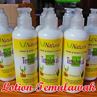 Lotion V Natural Temulawak BPOM