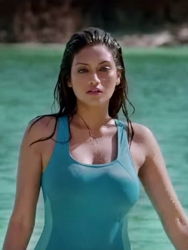 Nusrat Jahan Hot Bikini Photos