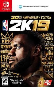 NBA 2K19 Switch XCI NSP