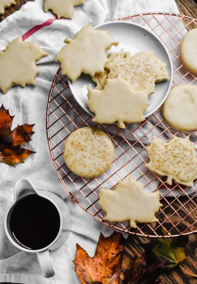 Maple Sugar Cookies #Cookiesrecipes