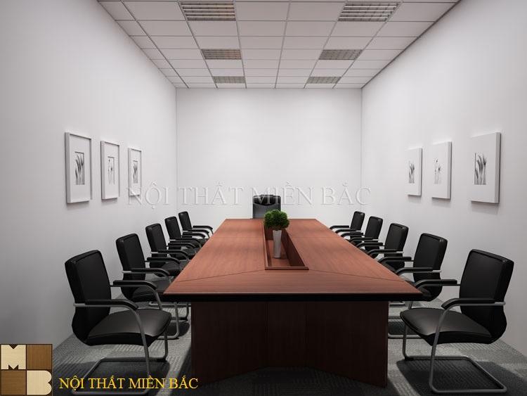 Thiết kế nội thất phòng họp cao cấp với nội thất đơn giản