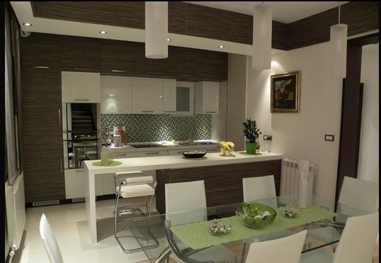 Fotos de comedores cocina comedor for Modelos de cocina comedor modernos