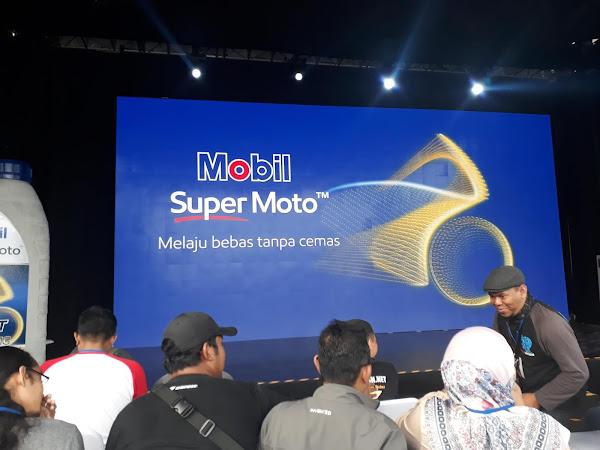Gatheringnya Bikers sekaligus Launching Lubricants  Mobil Super Moto.