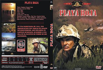 Caratula, cover, dvd: Playa roja | 1967 | Beach Red