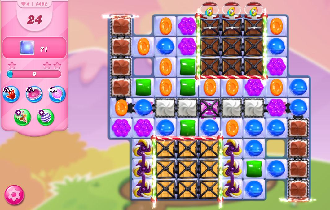 Candy Crush Saga level 6402