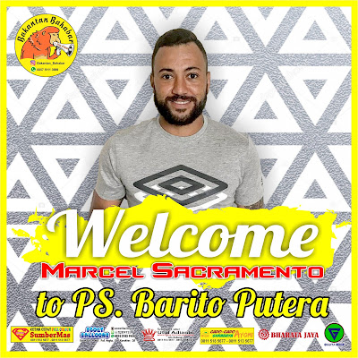 Marcel Sacramento resmi jadi pemain Barito Putera