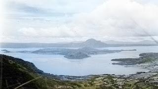 The Taal Volcano Island.