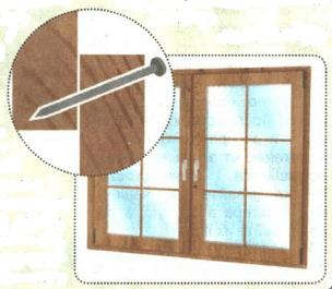 укрепить окно на даче