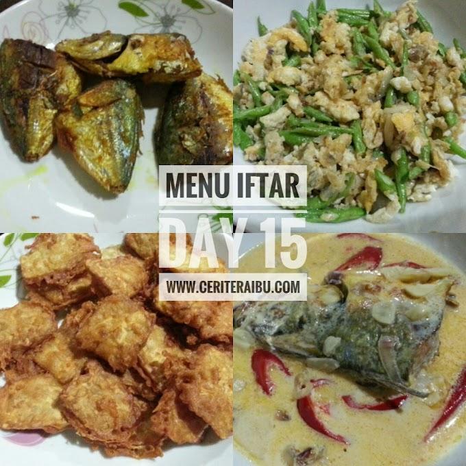 Menu Iftar Day 15 & Day 16