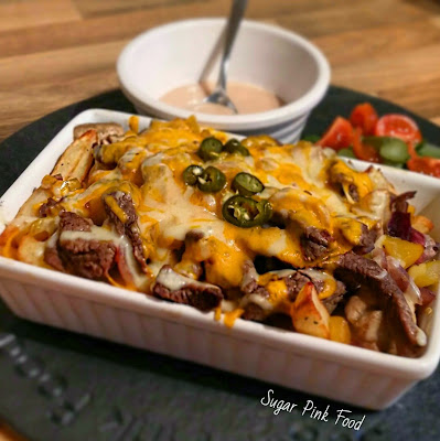 Philly Cheesesteak Fries Slimming world recipe | Healthy Recipe