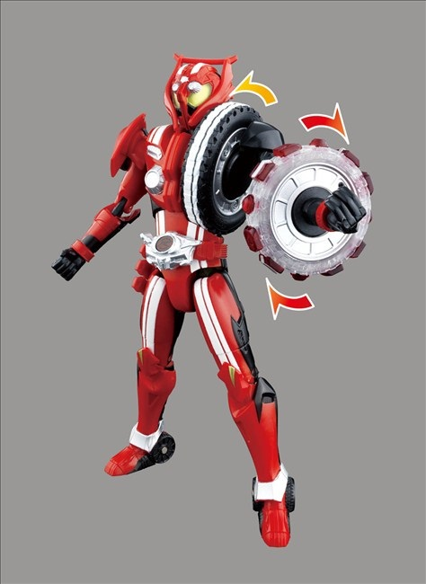 Tire Change Cost >> TK11 Kamen Rider Drive Type Tridoron Official Images ...