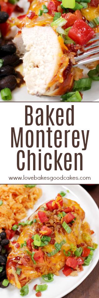 Baked Monterey Chicken