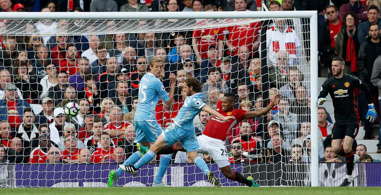 [EPL match] Manchester United 1 - Stoke City 1