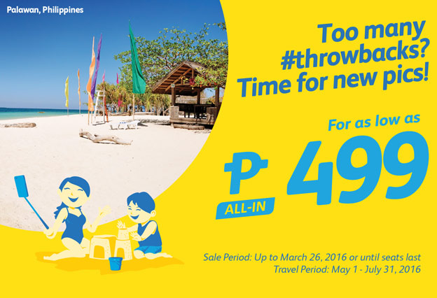 Cebu Pacific Promo Fare 499 Only 2016