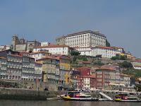 Oporto. Vista Ribeira, Castillo y Sé