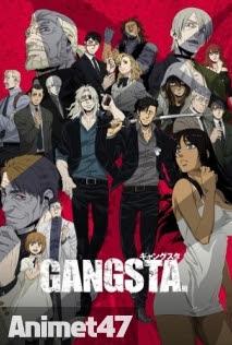 Gangsta - Anime Gangsta 2015 Poster