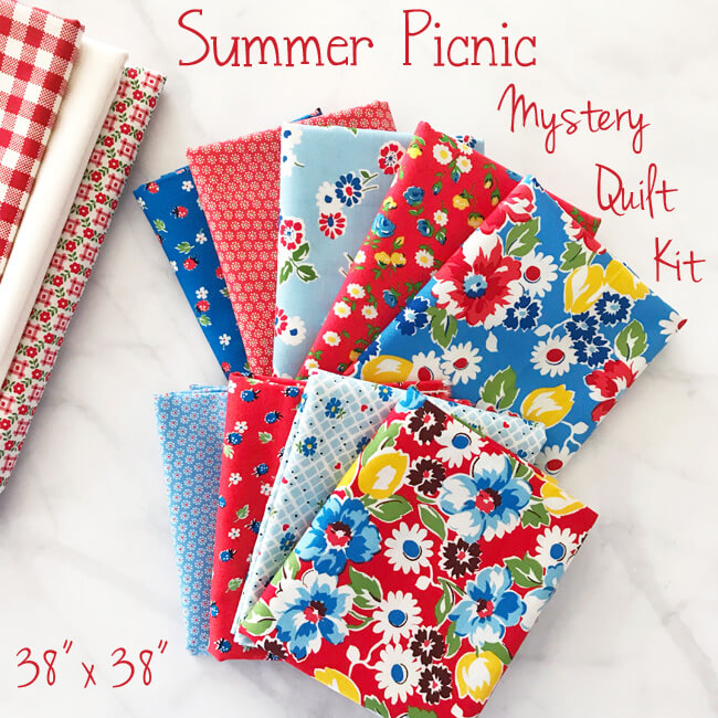 Summer Picnic Mystery Quilt