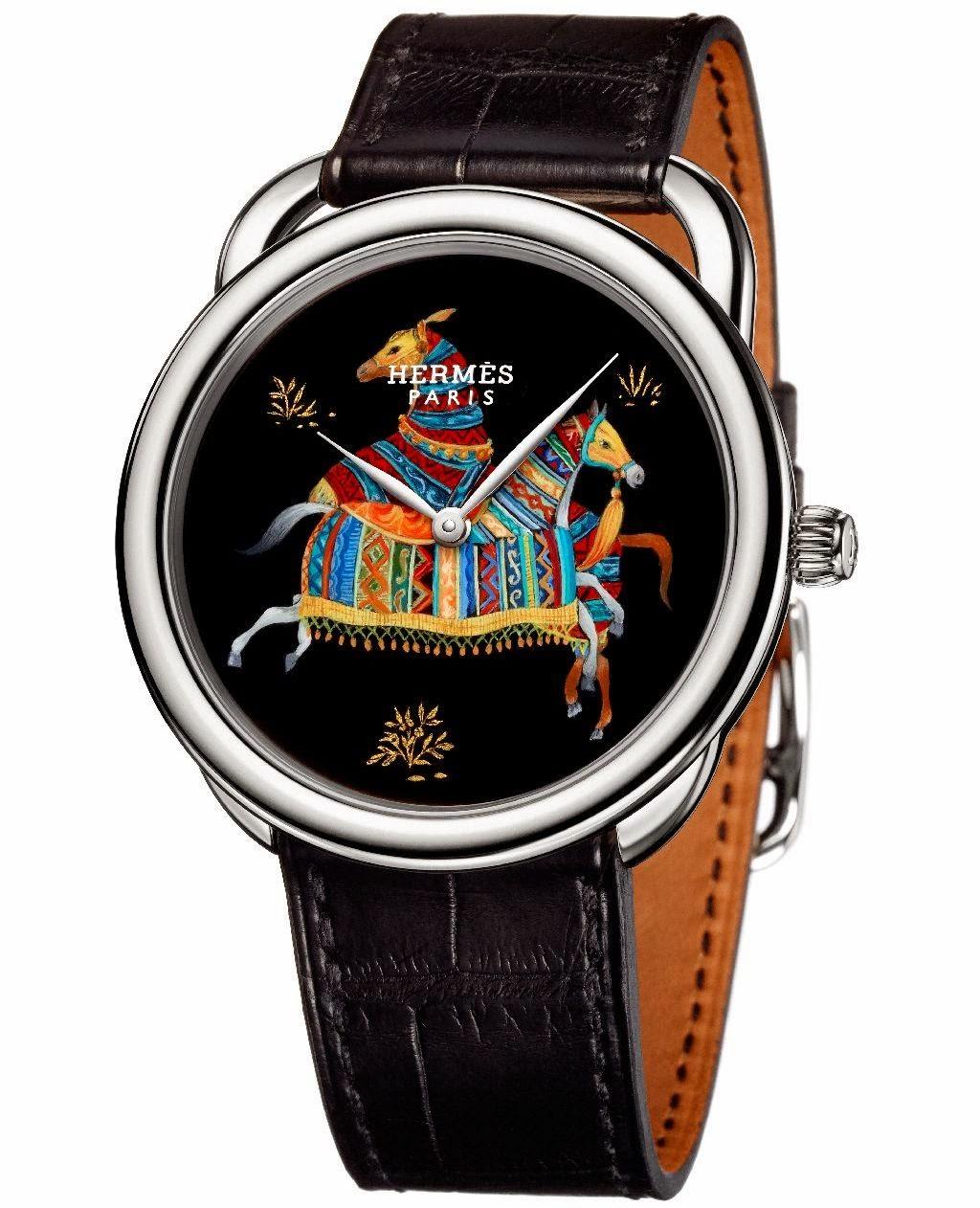 Hermès Arceau Cheval d'Orient watch