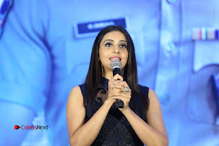 Actress Rakul Preet Singh Stills in Beautiful Blue Long Dress at Dhruva Salute to Audience Event  0129.JPG