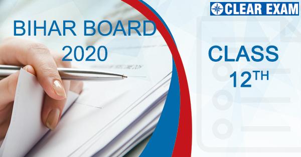 Bihar Boards Class XII 2020