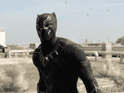 Chadwick Boseman- Black Panter