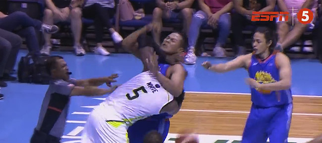 Malcolm White and Jessie Saitanan PHYSICAL Altercation (VIDEO)