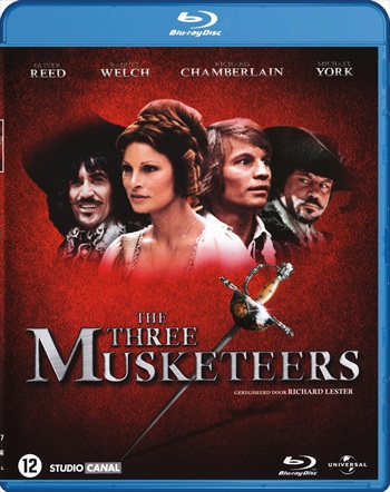 Poster of The Three Musketeers 1973 Dual Audio Movie Hindi Bluray free Download