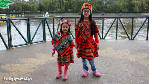 Baguio City - Igorot Costumes - Burnham Park
