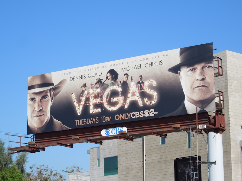 Vegas TV billboard