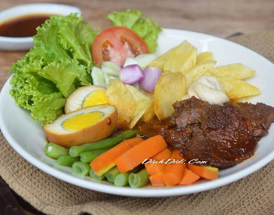 Resep Cake Pisang Diah Didi: Diah Didi's Kitchen: Selat Solo Komplet