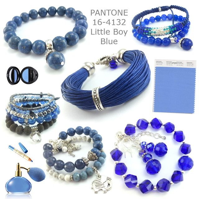Biżuteria Pantone Little Boy Blue