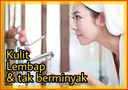 Kulit wanita cuci muka cantik