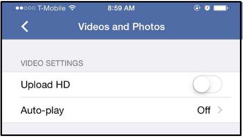 How to Stop Videos From Playing on Facebook