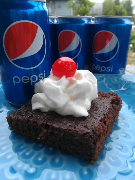 Pepsi Brownies by Eliot's Eats (inspired by The Goonies for Food 'n Flix)