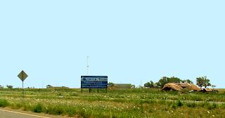 Smyer, Texas (Copyright Kevin Randle)