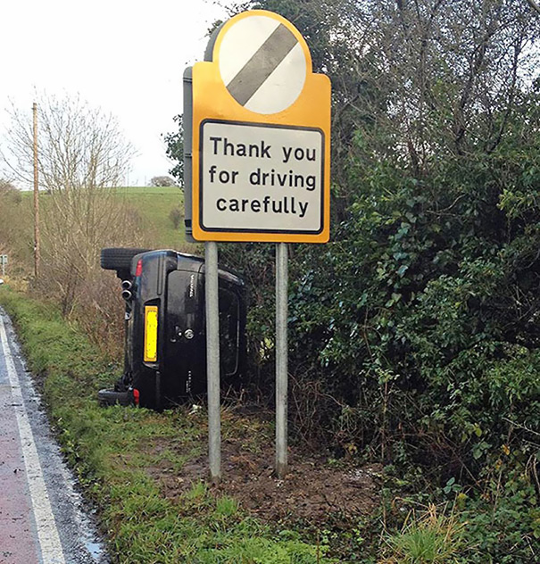 35 Hilarious Pictures Capturing Ironic Moments - You're Welcome