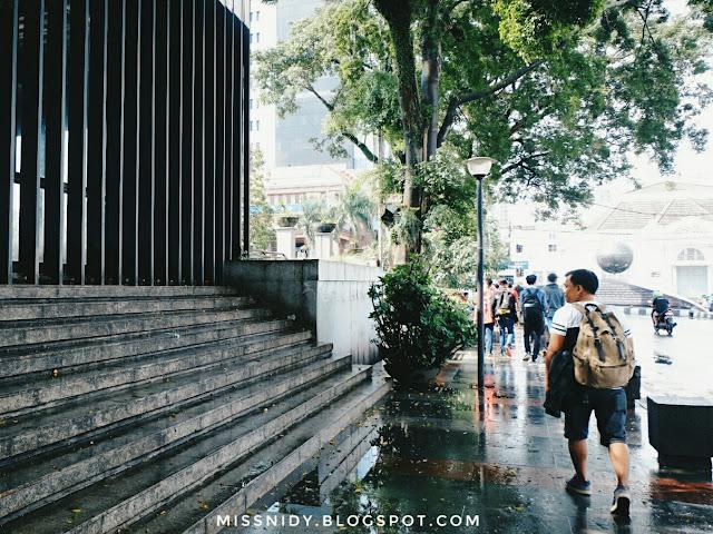 jalan-jalan ke masjid raya bandung