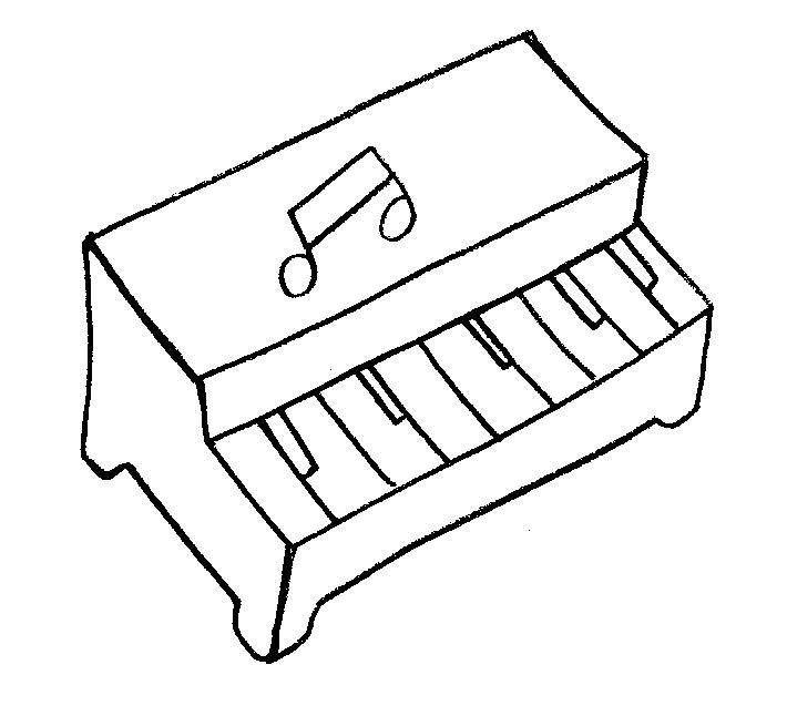 Pin Trompete E Notas Musicais Desenho Para Colorir Imprima