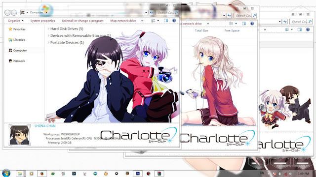 Charlotte Theme Win 7 by Bashkara