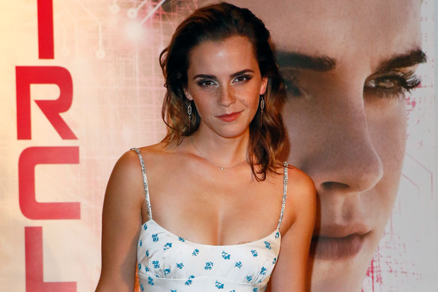 "British actress Emma Watson attends ""The Circle"" premiere in Paris"