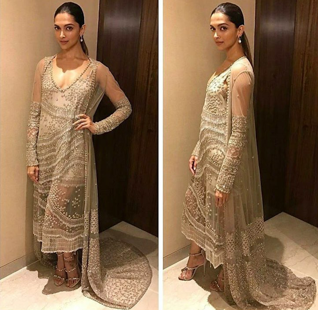 Deepika Padukone in Sabyasachi outfit for XXX Return of Xander Cage Press Conference