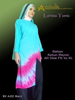 gambar baju muslim tie dye