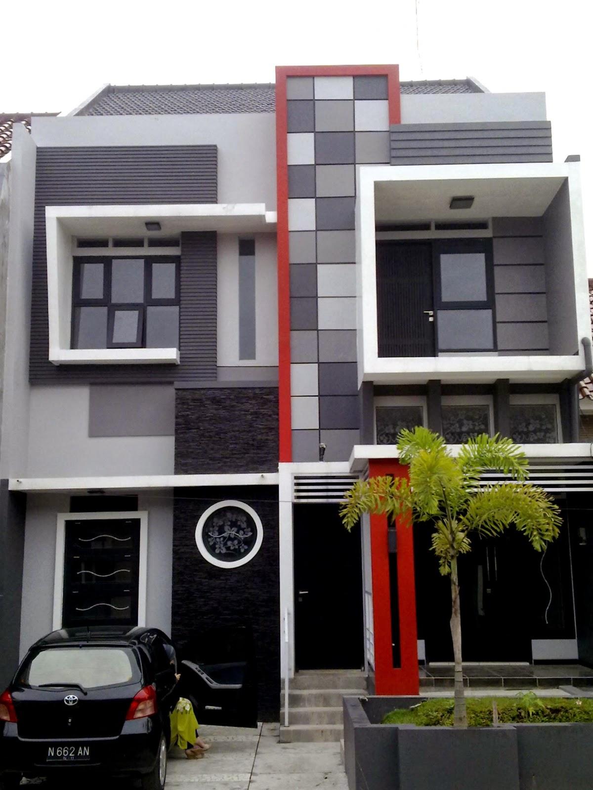 62 Desain Warna Rumah Minimalis Modern