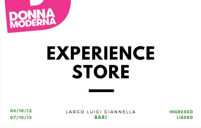 L'Experience Store di Donna Moderna a Bari