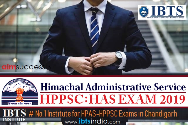 HPPSC Himachal Administrative Service (HAS) Exam 2019 Notification Out Apply Online