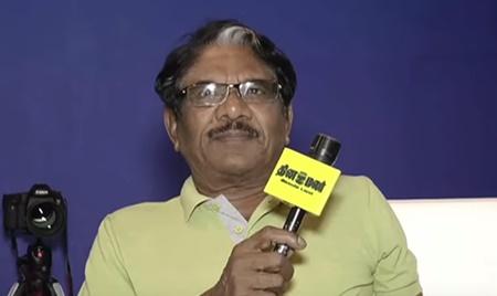 As you grow you get wisdom says Director Bharathiraja