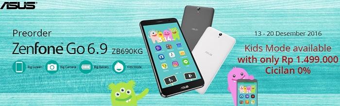 Harga Asus Zenfone Go 6.9 inch ZB690KG Android Murah Layar Besar