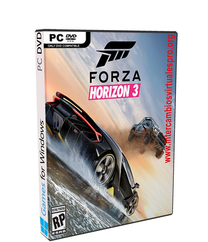Forza Horizon 3 poster box cover