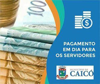 """Resultado de imagem para PAGAMENTO MES DE AGOSTO CAICÃ"""""""
