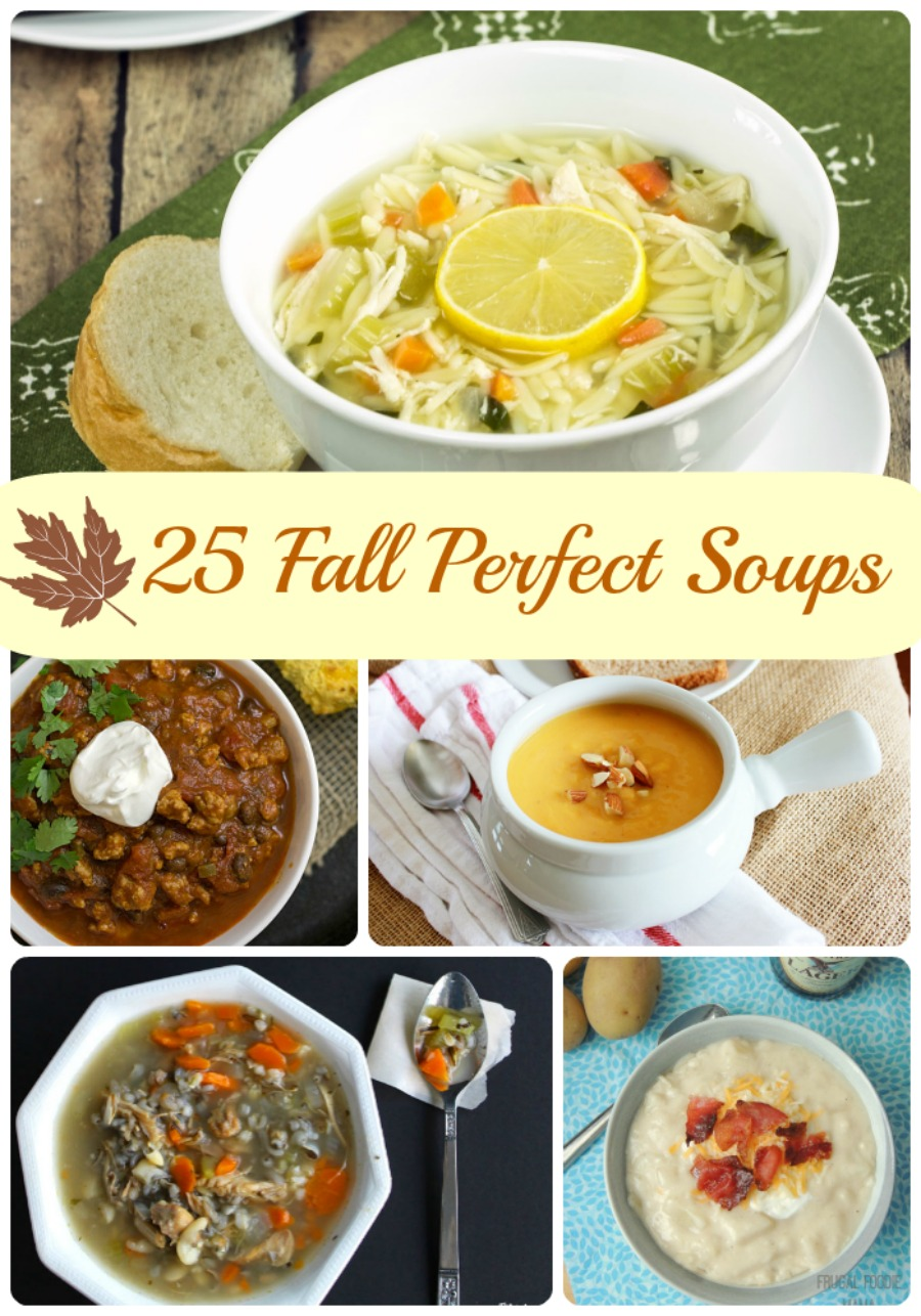 25 Fall Soup Recipe Round-Up | Cooking on the Front Burner